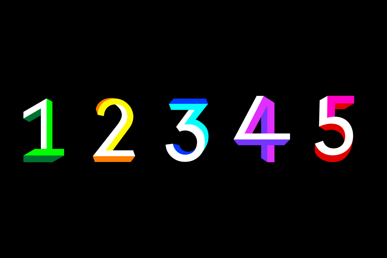 type typeface typographie fonte Marie Disle perspective impossible isométrique